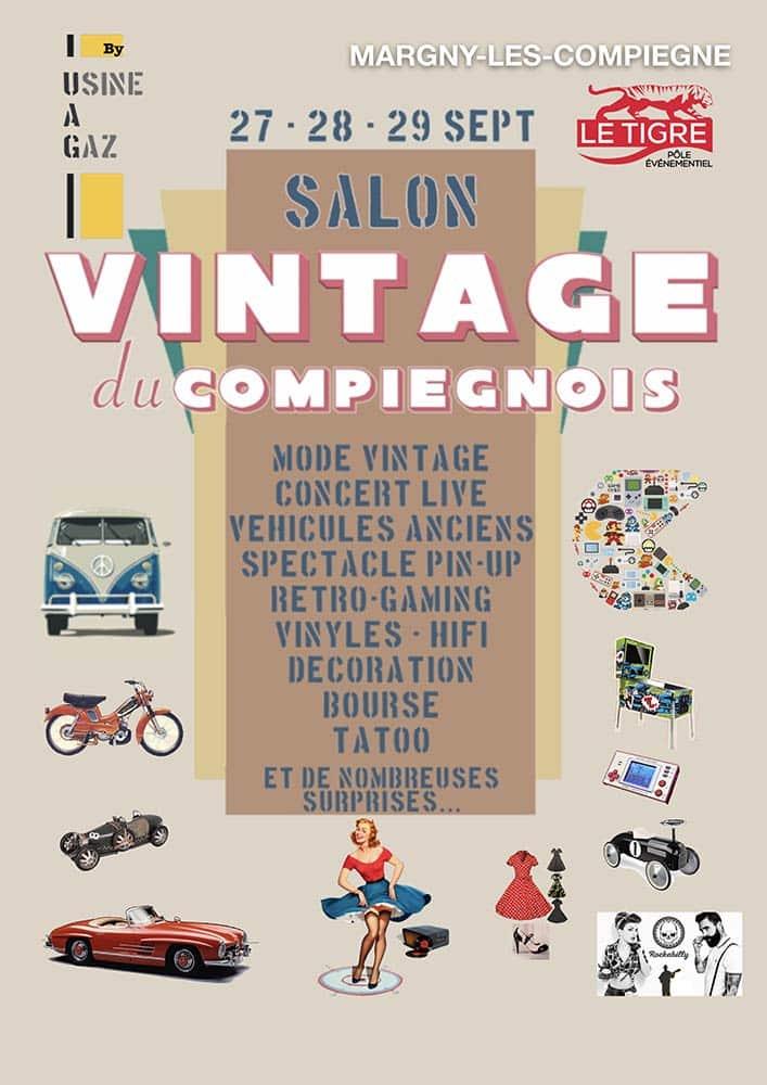 Salon vintage - Foire du Compiègnois